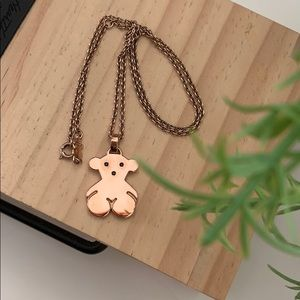 🌻Tous Vermeil Rose Gold over 925 Silver Necklace